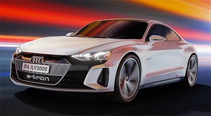 Blender 2.80 Audi E-Tron GT影视级别车辆广告制作系列教学之渲染篇