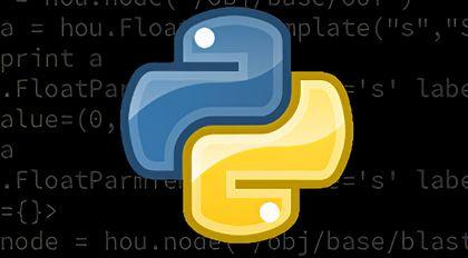 python for houdini 工具脚本开发教程