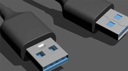 USB接口建模教学