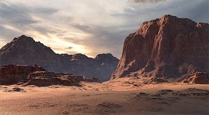 影视级沙漠地形场景案例教学