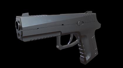 HardMesh枪械模型制作案例教学