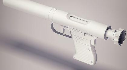 blender2.8高精度枪械建模教学
