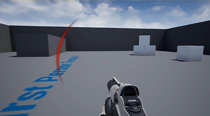 在虚幻引擎4中制作显示伤害来源的UI效果
