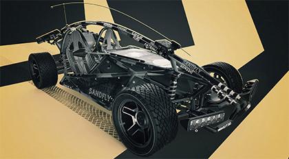 影视级功能性机车3DCoat设计及制作全流程教学