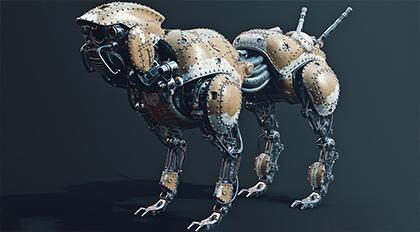 机械狗—maya,sp高精度机械生物制作流程进阶