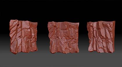 ZBrush石头崖壁雕刻案例教学