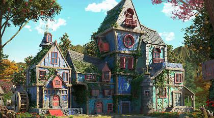 "3Ds Max场景案例""The Village""制作流程教学"