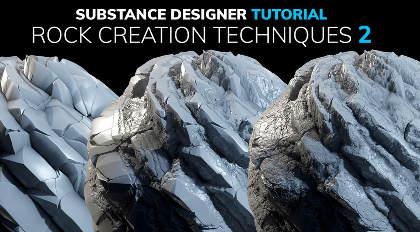Substance Designer岩石创作技巧及高级案例教学_2