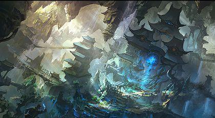 极品CG环境艺术绘制的秘密 -《地下城之谜》篇
