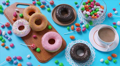 Blender2.8糖果甜甜圈小案例