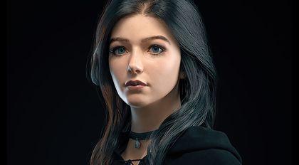 写实女性角色肖像高级案例教学