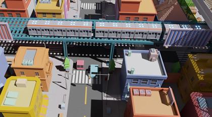 Blender Low poly 风格化动画场景案例流程教学