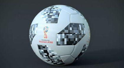C4D制作2018世界杯足球