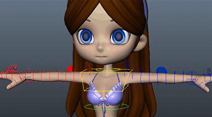 Maya绑定技术精解教程进阶篇角色身体绑定