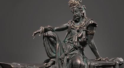 太极仿宋自在菩萨像雕刻教程