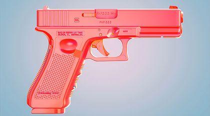 Cinema 4D多边形建模Glock案例教程
