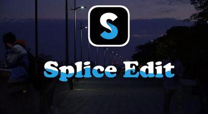 使用手机APP Splice剪辑制作短视频