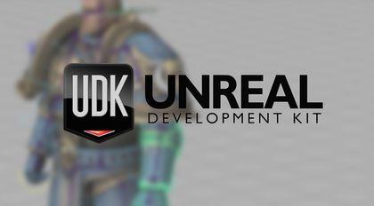 UDK游戏引擎自定义角色流程教学