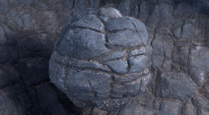 Houdini程序岩石模型与Substance Designer贴图制作案例教程