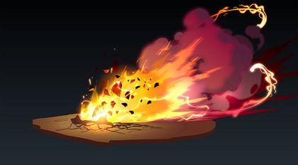 Flash手绘游戏特效静帧设计-理论与实战