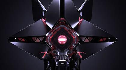 科幻无人机硬表面概念设计及渲染高级案例教学+20Kitbash