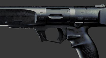 Fusion360+maya马格南战术武器制作流程高级教学
