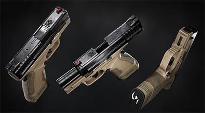高精度次世代游戏美术3D武器制作全流程教学