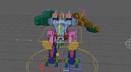 Maya绑定技术精解教程机器人绑定完全教学