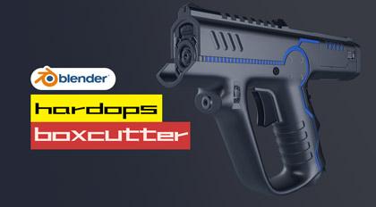 Blender硬表面双壁Boxcutter&Hardops基础与实战教学