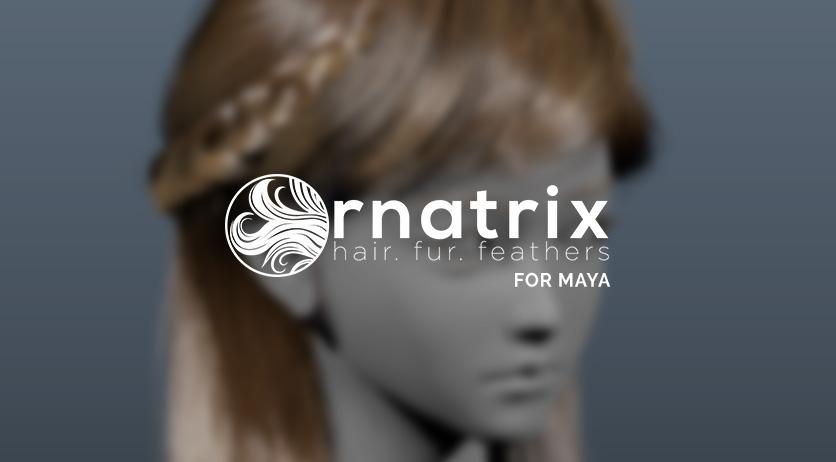 Ornatrix for maya功能完全教学