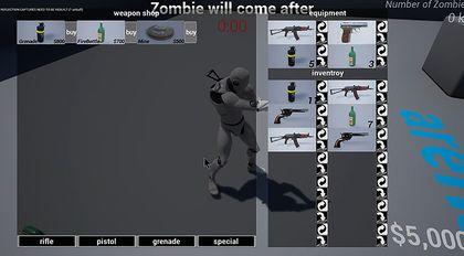 UE4局域网第三人称射击游戏-第三部-丧尸射击游戏制作教程