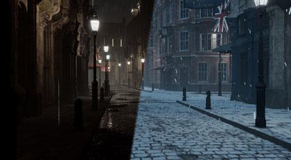 UE4光影手法公开课:初雪与雨夜