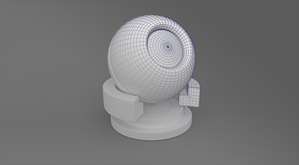 Maya材质测试球模型制作教学