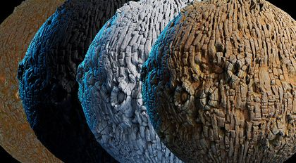 Substance Designer树皮材质高级案例教学