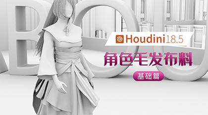 Houdini18.5角色毛发布料基础篇