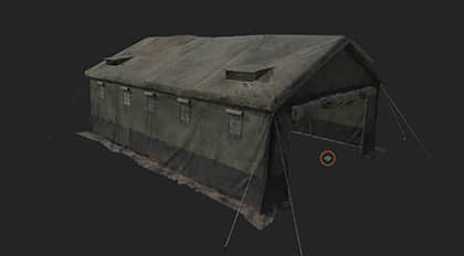 Substance Painter次世代游戏场景贴图绘制实战—写实布料帐篷