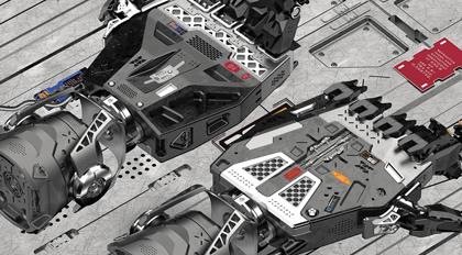 moi3d机械手概念设计教程