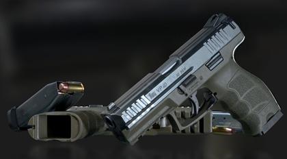 高精度影视级武器道具全流程教学:模型材质篇