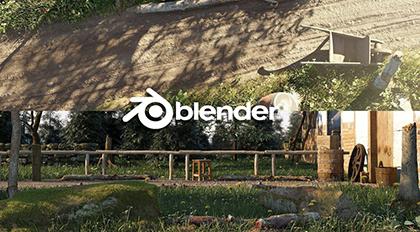 Blender2.8高精度场景案例教学