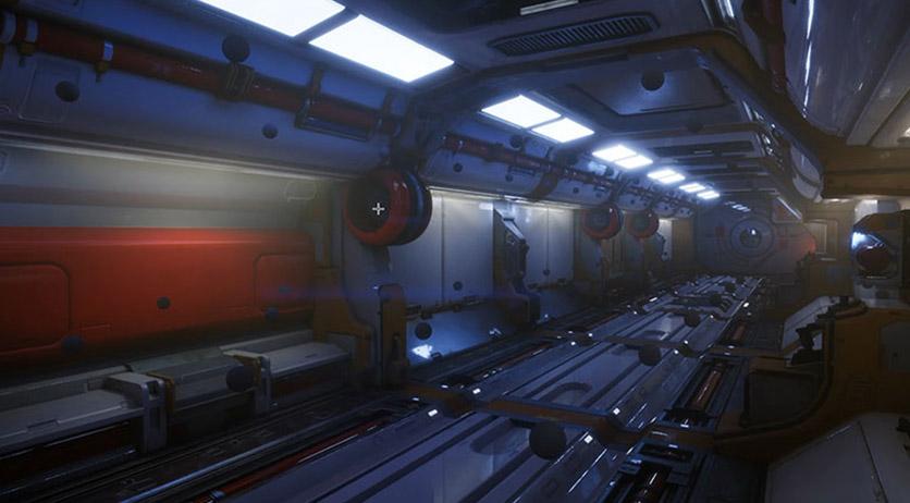 虚幻4场景流程案列实战教程:Scifi科幻游戏场景制作全流程