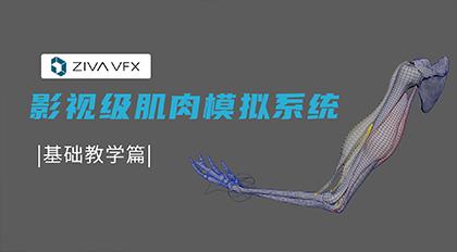影视级肌肉模拟系统ziva基础教学篇