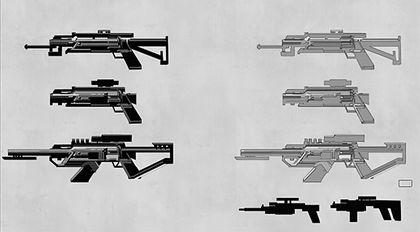 罗敏概念设计系列教学第三部:武器与生物概念设计技巧
