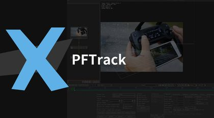PFTrack摄像机跟踪解算中级案例教程