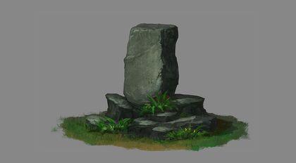 《游戏场景基础绘画教程》之石质篇