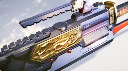 高精度次世代PBR手游武器制作案例教学
