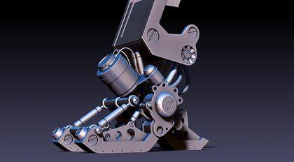AboutCG ZBrush4高级机械建模实战教程